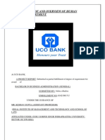 Bank Analysis of and Overview of Human Resource Department