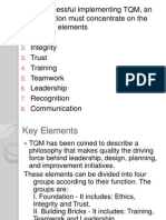 CHAPTER 1 the Eight Elements of TQM