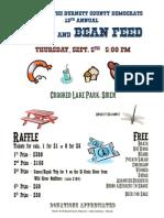2013 Bean Feed Flyer