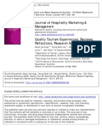 2009_Quality Tourism Experiences