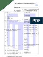 Potencias de Base 10 y Decimales 8vos2