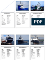 platform supply vessel data part 1