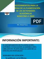 Presentacion Planificacion Sep2009