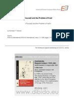 3.5 - Parsons, Nicholas T. - Foucault and the Problem of Kant (en)