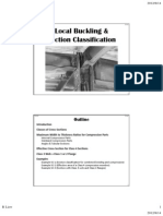 2 Local Buckling and Section Classification - 2011