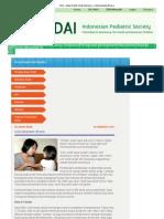 IDAI – Ikatan Dokter Anak Indonesia » Keterlambatan Bicara