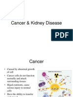 Cancer & Kidney Disease.ppt