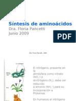 19. Biosintesis de Aminoácidos (Parte 1)