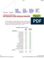 Genius Maker Software for Science Education2