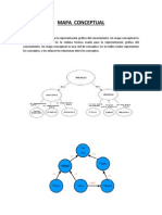 mapa conceptual es una técnica usada para la representación gráfica del conocimiento
