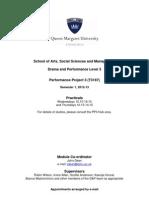 Performance Project 3 Handbook 2012-13(1)