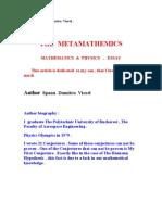 THE   METAMATHEMATICS