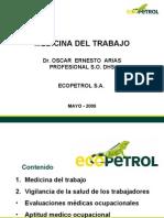 Presentación medicina del trabajo-DHS-Ecopetrol-OSCAR