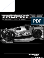 HPI Trophy 3.5 Instrucion Manual