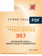 Tema 3 Antologia 2013
