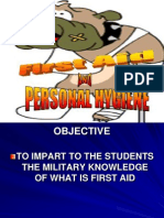 FIRST AID AND PERSONAL HYGIENE.ppt
