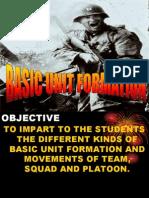 Basic Unit Formation.ppt