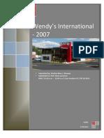 Case #5 Wendy's