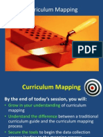 Curriculm Mapping PowerPoint