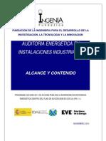 Alcance y Contenido de Una Auditora Energtica-Ingenia