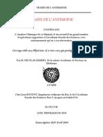 LEMERY TRAITE DE L'ANTIMOINE