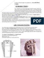 air and water cooled engine