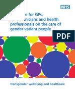 Guía de cuidado trans UK