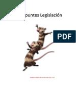 Apuntes Legislación