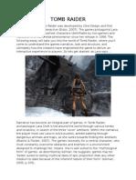 Tomb Raider essay