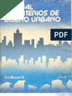 Manual de criterios de diseño urbano [Jan Bazant S.] (1)