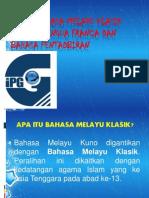 Fungsi Bahasa Melayu Klasik Sebagai Lingua Franca Dan