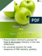 Retail Software for Restaurants (Food and Bevarages)
