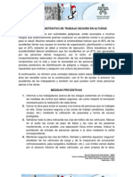 Caso Práctico - MEDIDAS PREVENTIVAS