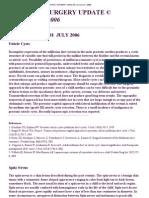 Pediatric Surgery Update Vol Ume 27, 2006