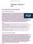 Pediatric Surgery Update Volume 38, 2012