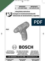 Bosch 3/8'' drill/driver