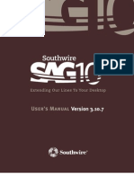SAG 10 User Manual V310