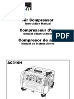 Owner's Manual Makita AC310H