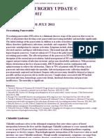 Pediatric Surgery Update Volume 37, 2011