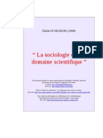 Socio Scientifique