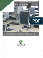 clausulado equipos electronicos