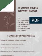 Consumer Buying Behavior Models