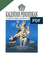 Kalender Pendidikan 2009/2010