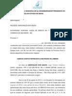 Peça 3 - HC RECURSO LIBERDADE PROVISÓRIA
