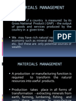 Material Management Chapter 1