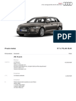 Catálogo nuevo A6 Avant 2012