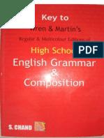 Wren & Martin High School Grammar Solution