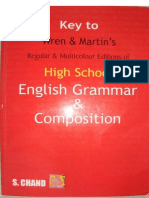 Wren & Martin High School Grammar Solution