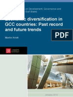 Economic Diversification in the GCC Countries