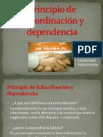 Principio de Subordinacion y Dependencia (1)